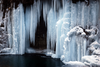 Frozen Waterfall V D Image