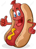 Hot Dog Chili Clipart Image