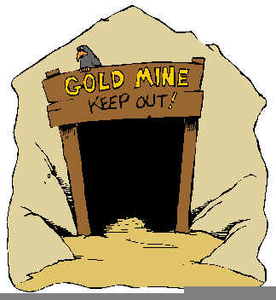 Gold Mining Clipart Image