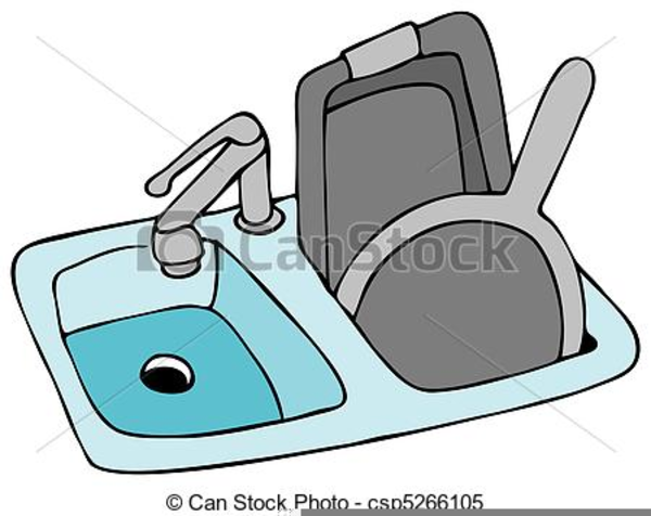 Kitchen Sink Clipart Free | Free Images at Clker.com - vector clip ...