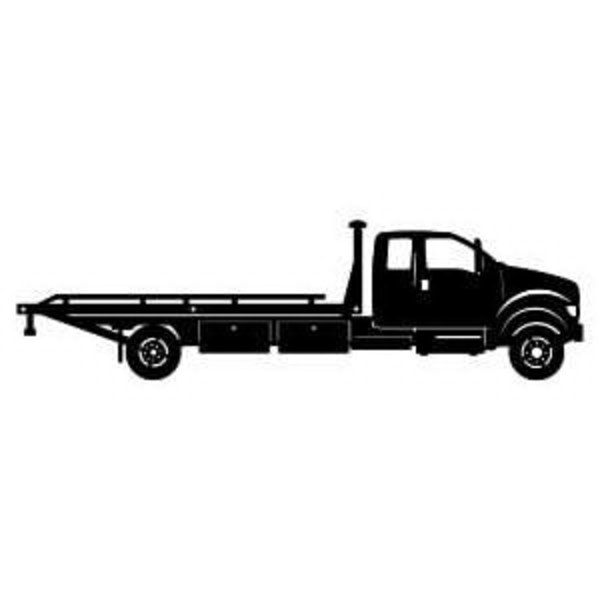 Free Tow Truck Clipart Image