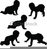 Crawling Baby Clipart Image