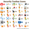 Security Toolbar Icons Image