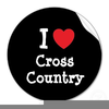 Free Cross Country Runner Clipart Image
