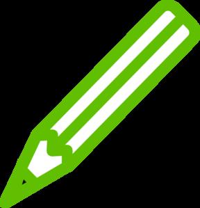 Green Pencil Clip Art at Clker.com - vector clip art online, royalty ...