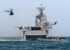 Activity Hums Around The San Diego-based Amphibious Assault Ship As U.s. Marines Go Ashore In Kuwait. Image