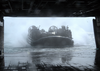 Landing Craft Air Cushion (lcac) Seventy Two Assigned To Uss Peleliu (lha-5), Pulls Back Into The Well Deck After Operations Were Suspended Due To Rough Seas. Image