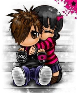 Kids Hug Cartoon Free Images At Clker Com Vector Clip Art Online