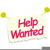 Help Wanted Sign Clipart Image