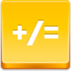 Free Yellow Button Math Image