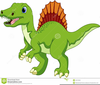 Animated Dinosaur Clipart Image