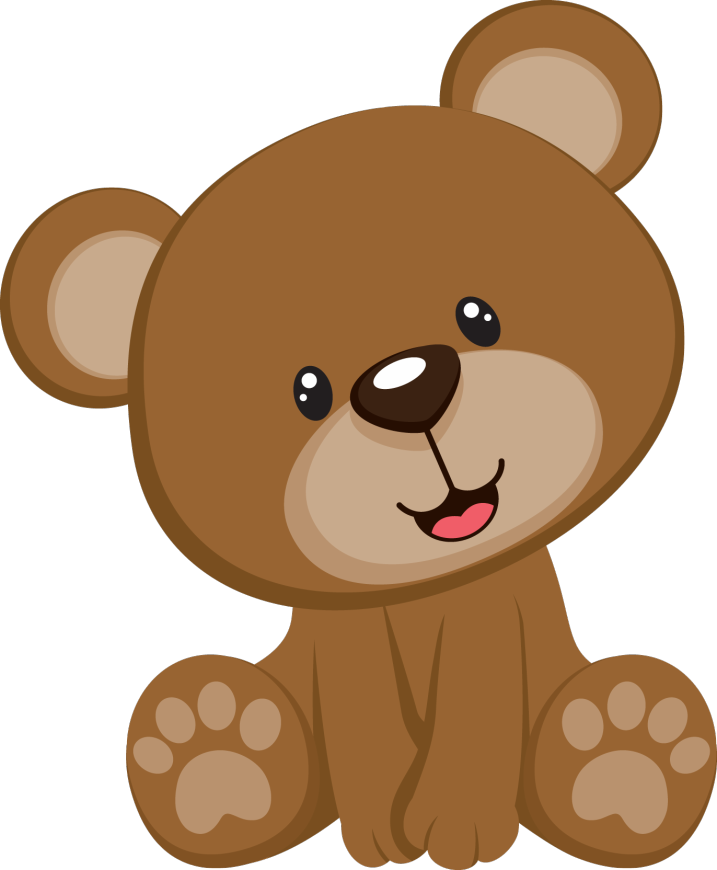 Bbear Seated Free Images At Clker Com Vector Clip Art
