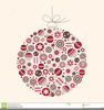 Clipart Christmas Bauble Image