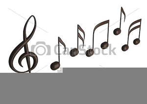 Free Musical Logo Clipart Image