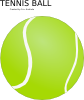 Tennis Ball Clip Art