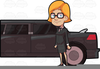 Clipart Lady Driver Image
