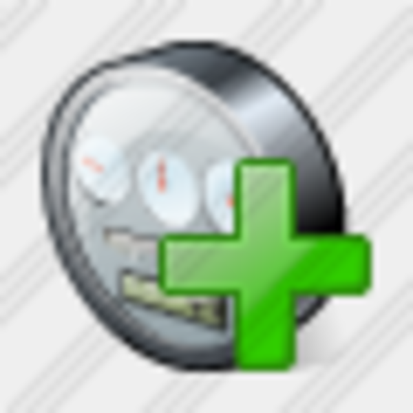 Power Meter Icon : Icon power meter add free images at clker vector