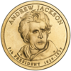 Andrew Jackson Presidential Coin Obverse Image