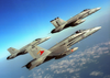 F/a-18  Hornet  Strike Fighters From Carrier Air Wing One Seven (cvw 17) Image