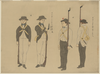 Images Of Western Military Figures. Image