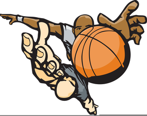 Basketball animated. Players clipart free images