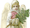 Free Religious Angel Clipart Image
