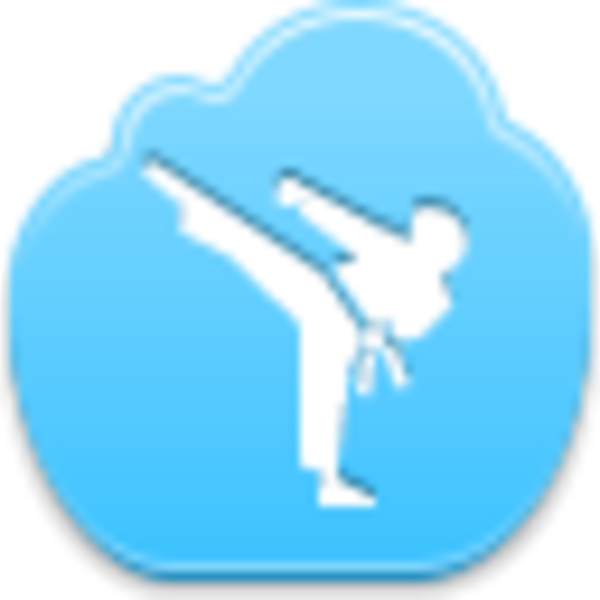 Karate Icon Free Images At Clker Com Vector Clip Art Online