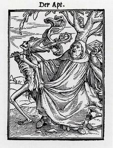 The Abbot From The Dance Of Death By Hans Holbein The Younger Image