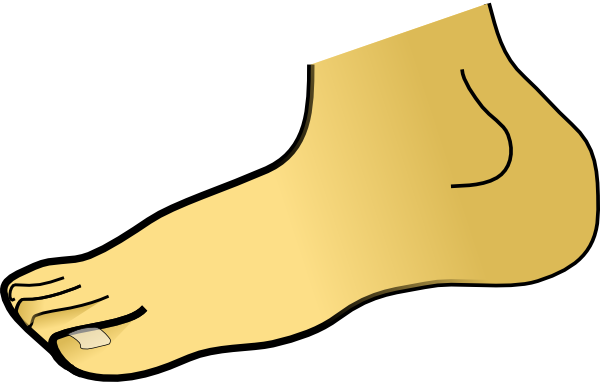 clipart of feet - photo #1