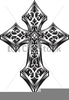 Gold Celtic Cross Clipart Image