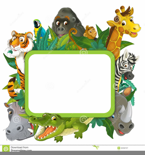 Free Cartoon Zoo Animal Clipart Free Images At Clker Com Vector Clip Art Online Royalty Free Public Domain