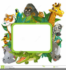 Free Cartoon Zoo Animal Clipart Image