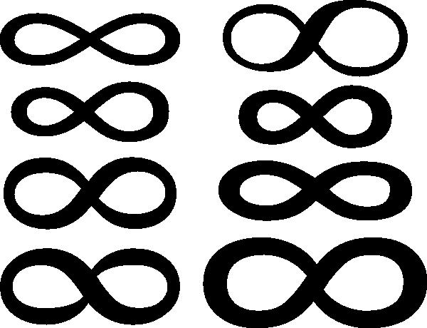 Big Infinity Symbol Clip Art At Clker Vector Clip Art Online