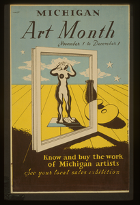 Michigan Art Month Know And Buy The Work Of Michigan Artists : See Your Local Sales Exhibition / Merlin. Image