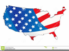 Free Clipart Map Usa Image