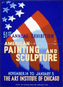 51st Annual Exhibition - American Painting And Sculpture - The Art Institute Of Chicago  / Galic. Image