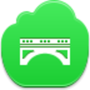 Free Green Cloud Bridge Image