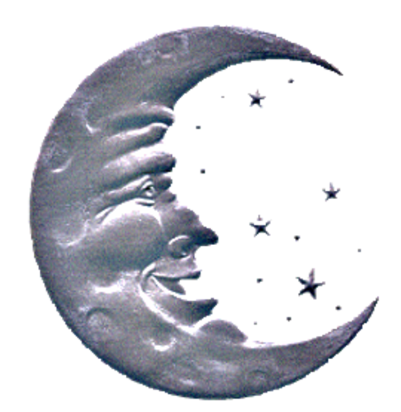 man in the moon clipart - photo #42