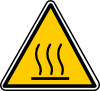 Hot Surface Danger Clip Art