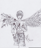 Broken Wings Drawing Image