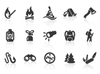 0009 Outdoor And Camping Icons Xs Image