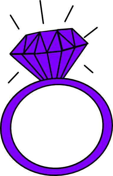 diamond ring purple clip art at clker com vector clip art online rh clker com silver wedding rings clipart free double wedding rings clipart free