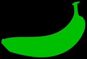 Banana green. Clip art at clker