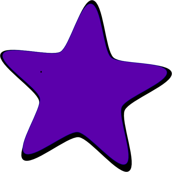 purple star clip art at clker com vector clip art online royalty rh clker com Light Purple Stars Clip Art Black Star Clip Art