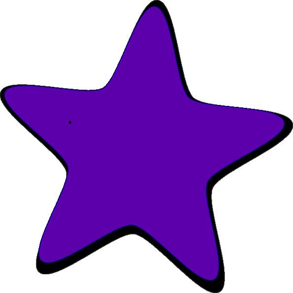 Purple Star Clip Art at Clker.com - vector clip art online ...