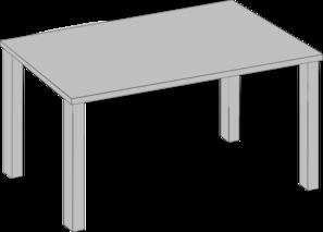 table clip art at clker com vector clip art online royalty free rh clker com table clipart free table clipart transparent