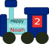 Noah Birthday Clip Art