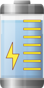 Battery Life Indicator  Clip Art
