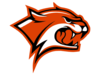 Wildcats Cut Orange Clip Art
