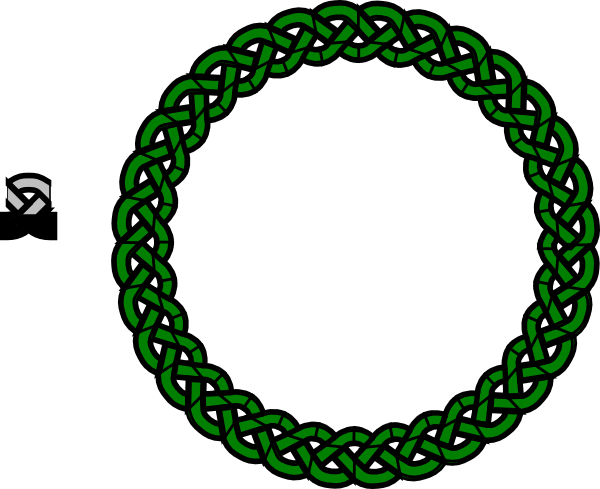 Green Celtic Knot Clip Art at Clker.com - vector clip art ...